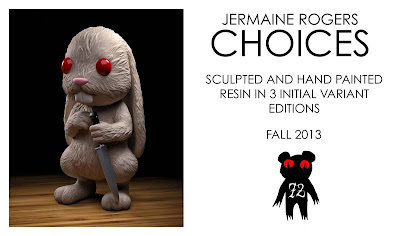 San Diego Comic-Con 2013 First Look: Choices Resin Figure by Jermaine Rogers