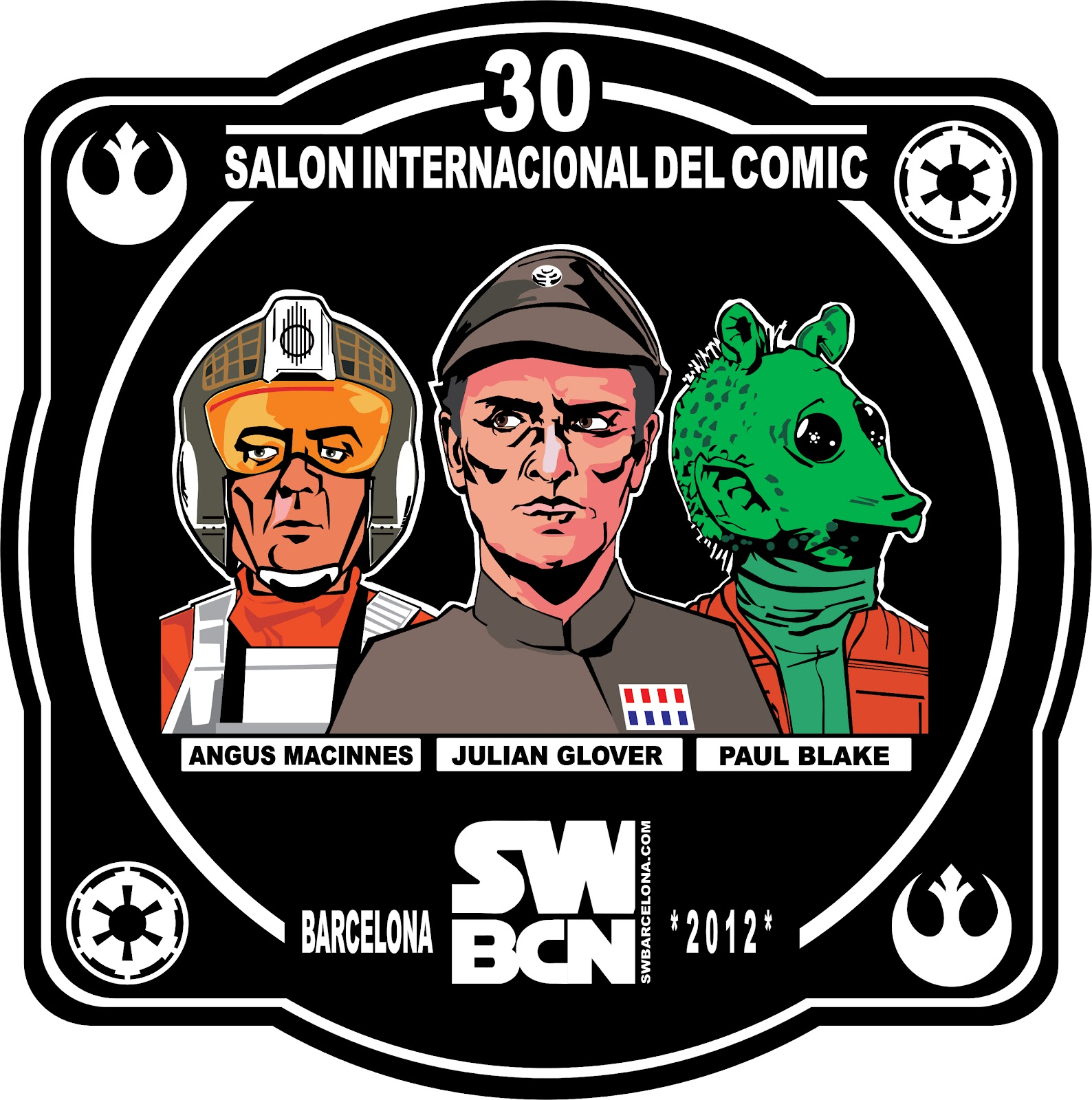 Salon Del Comic Delliafonte Productions Patch Conmemorativo Salon Del