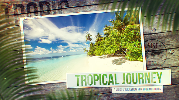 Tropical Journey Slideshow Videohive – Free After Effects Templates