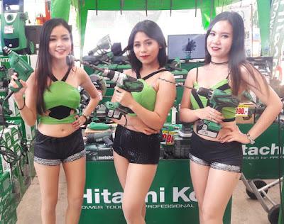 Buriram Isaan Hitachi Cordless Power Drill Tools Thailand