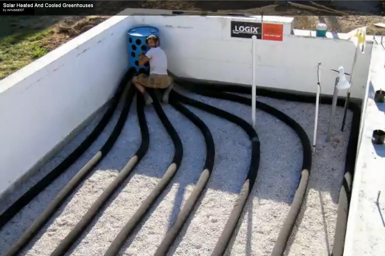 3x5 Aquaponics Subterranean Heating And Cooling