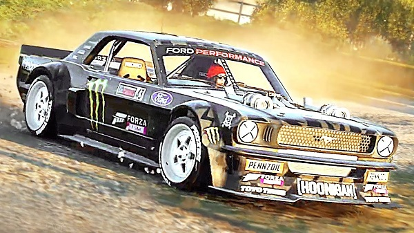 Forza Horizon 4 Gymkhana Ten Vehicles