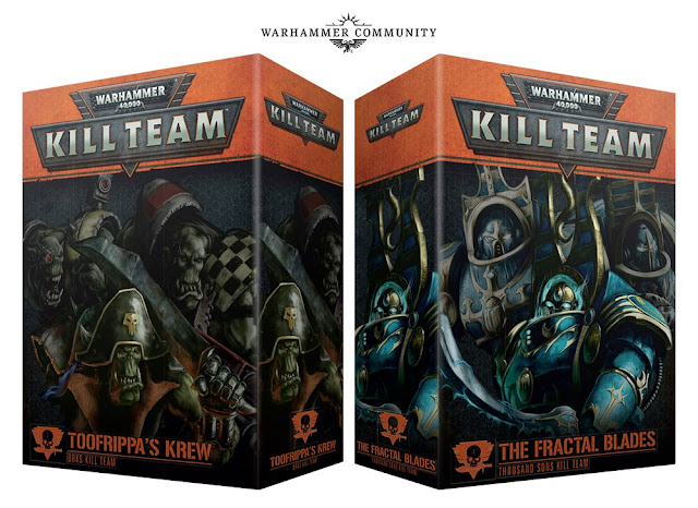 Kill Teams Orkos y Mill hijos