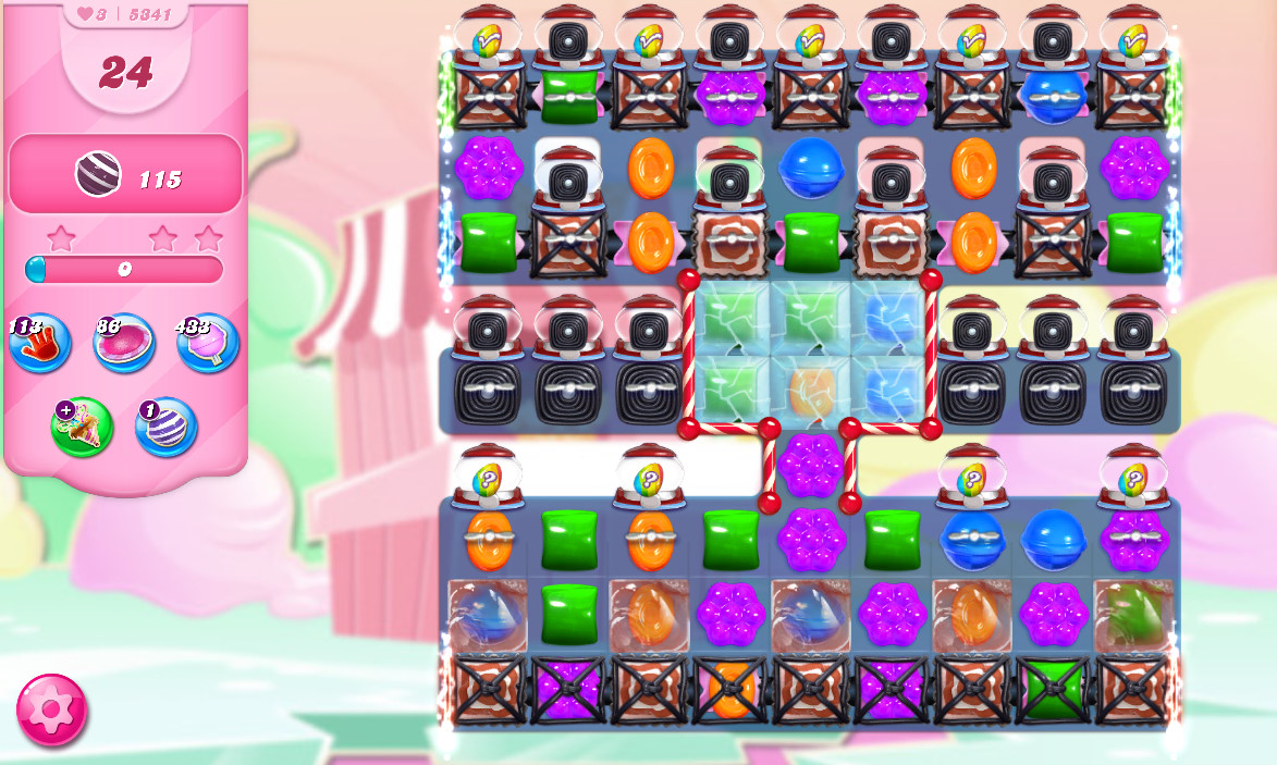 Candy Crush Saga level 5341
