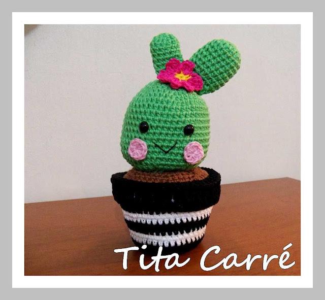 Cactus em Crochet