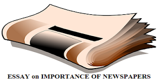 ESSAY on IMPORTANCE OF NEWSPAPERS