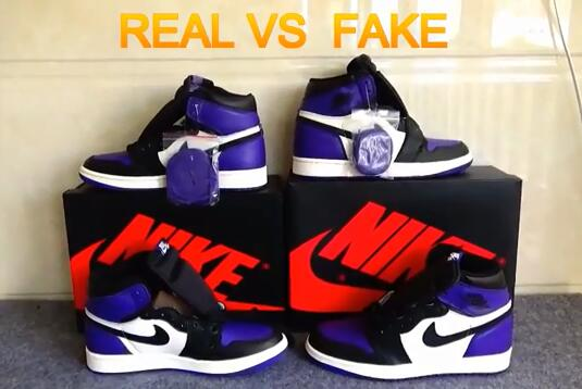 4184c971b8f And here is the Real VS Fake Comparison for AIR JORDAN 1 RETRO HIGH OG COURT  PURPLE video for you guys to have a reference.