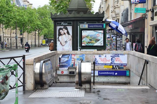 Paris day 1 believe frustrated pilot - Station metro jardin du luxembourg ...