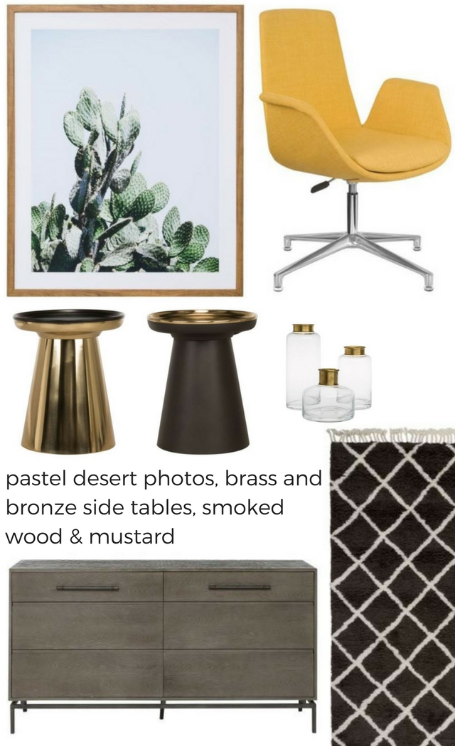 Just Loving This Mood Board Of Covetable Things From Freedom. Who Knew That  I Would Covet A Mustard Yellow Desk Chair.