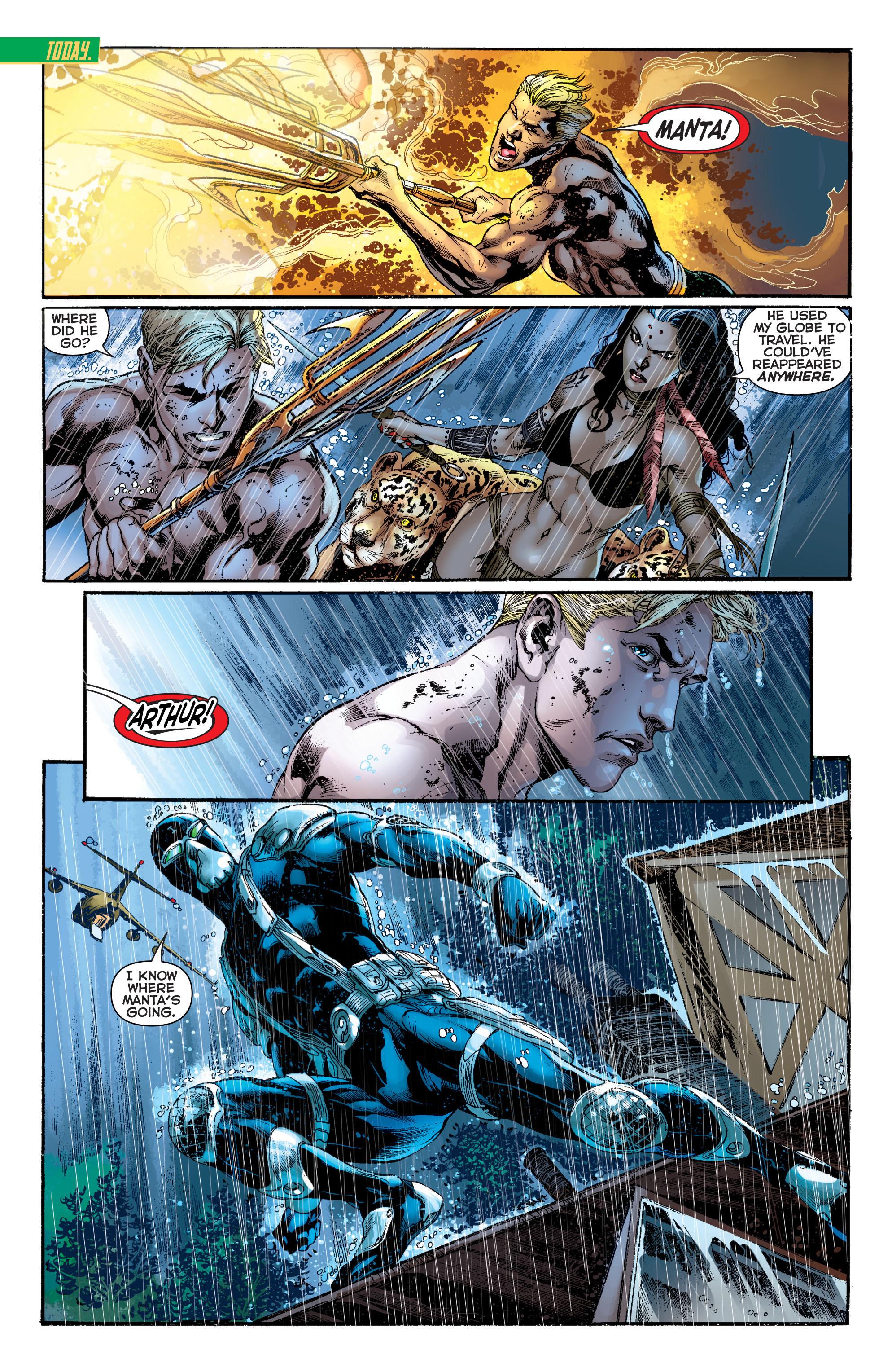 Read online Aquaman (2011) comic -  Issue #11 - 5