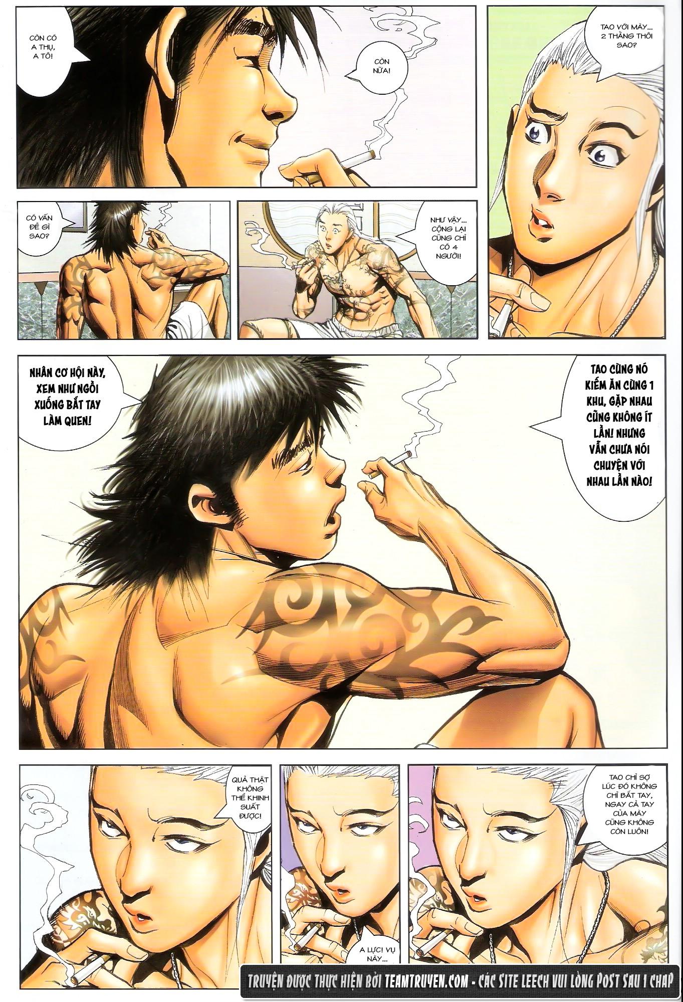 Người Trong Giang Hồ NetTruyen chap 1492 - Trang 16