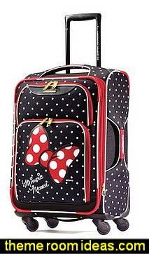 American Tourister Disney Minnie Mouse Red Bow Softside Spinner