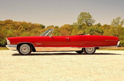 1965 Pontiac Bonneville Convertible Side Left