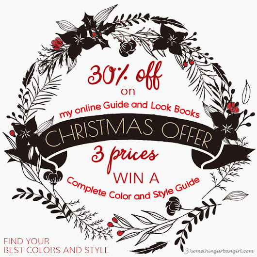 30 something urban girl: Christmas offer: 30% + and win prizes