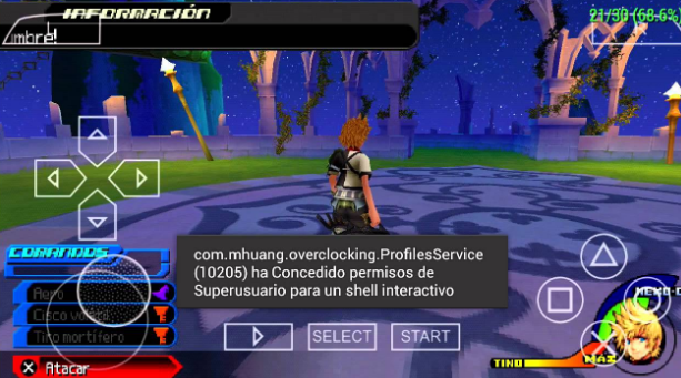 Kingdom Hearts Birth by Sleep PPSSPP