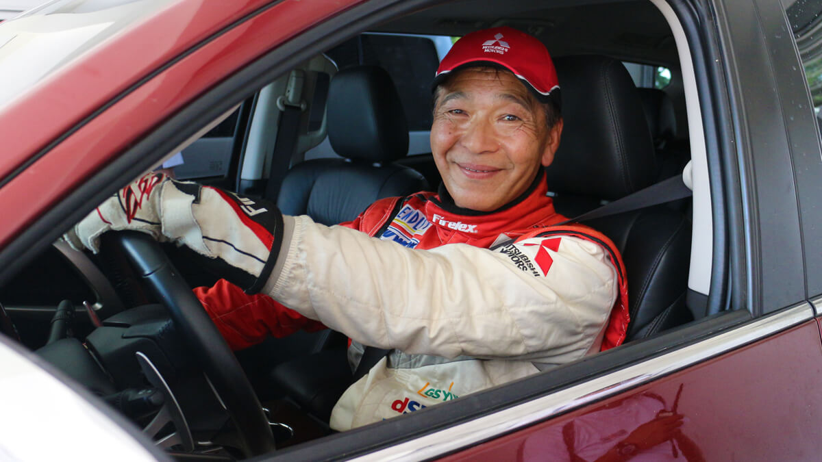 2-time Paris Dakar Rally Champ-Hiroshi Masuoka