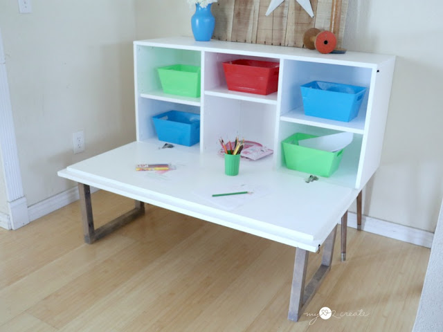 Great kids table for storage, art supplies, legos and more!