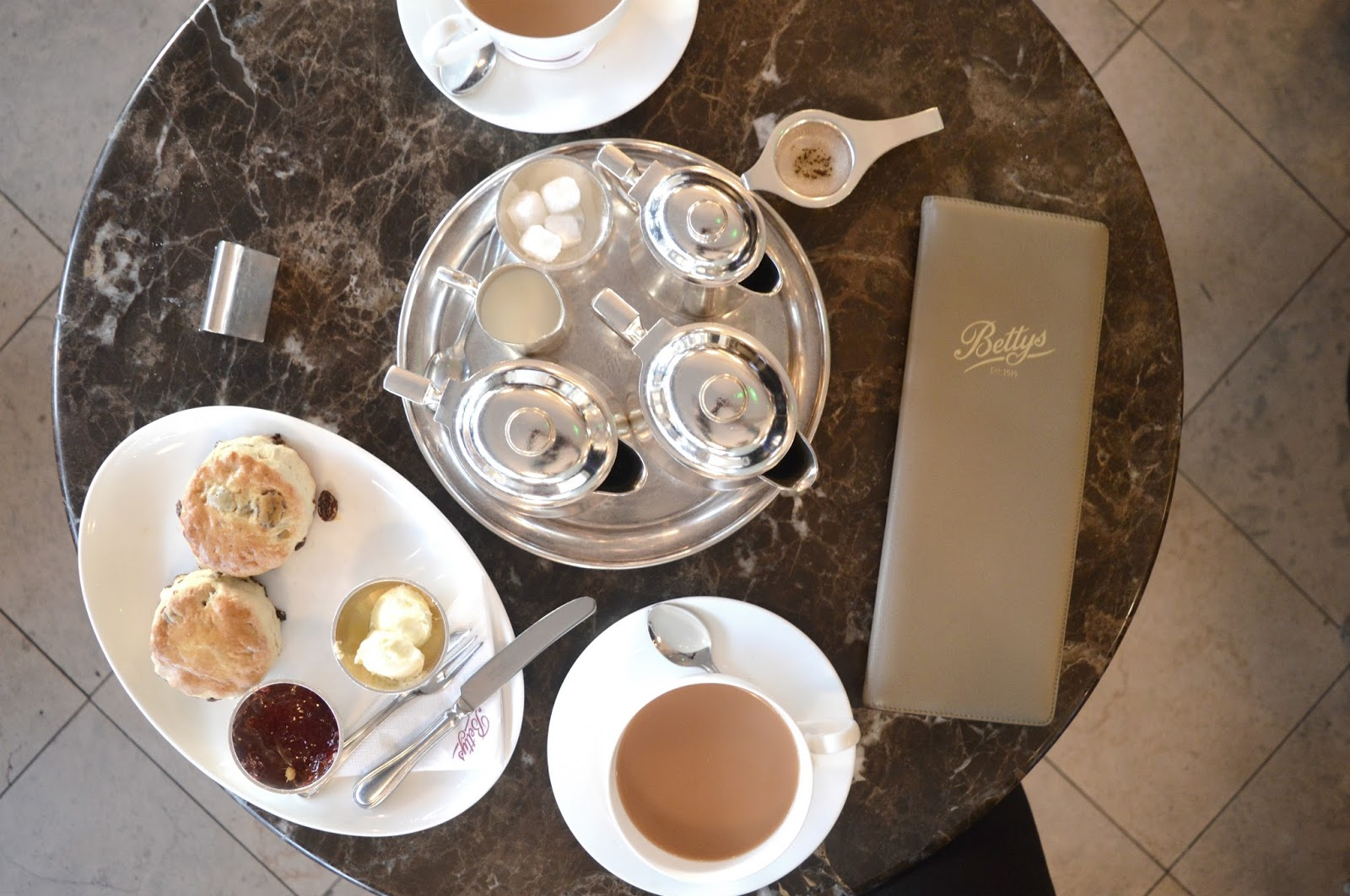 A Weekend in Harrogate - Bettys Tea Room