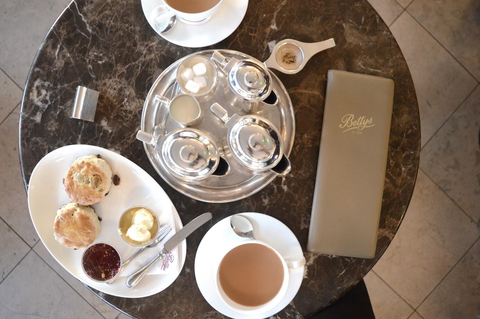 A Weekend in Harrogate - Bettys Tea Room