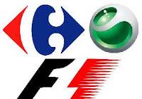 Logo Carrefour-Sony Ericsson-Formula 1