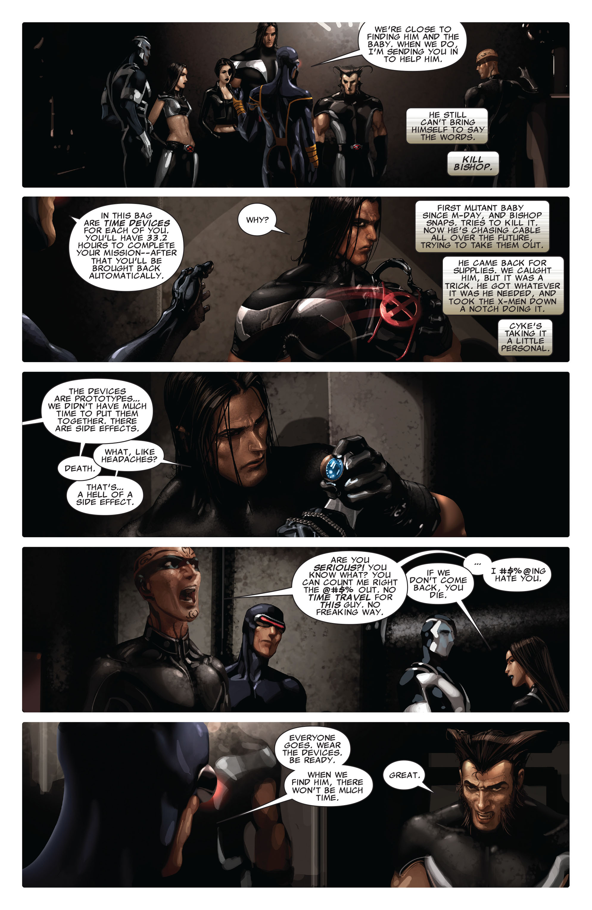 Read online X-Force (2008) comic -  Issue #13 - 8