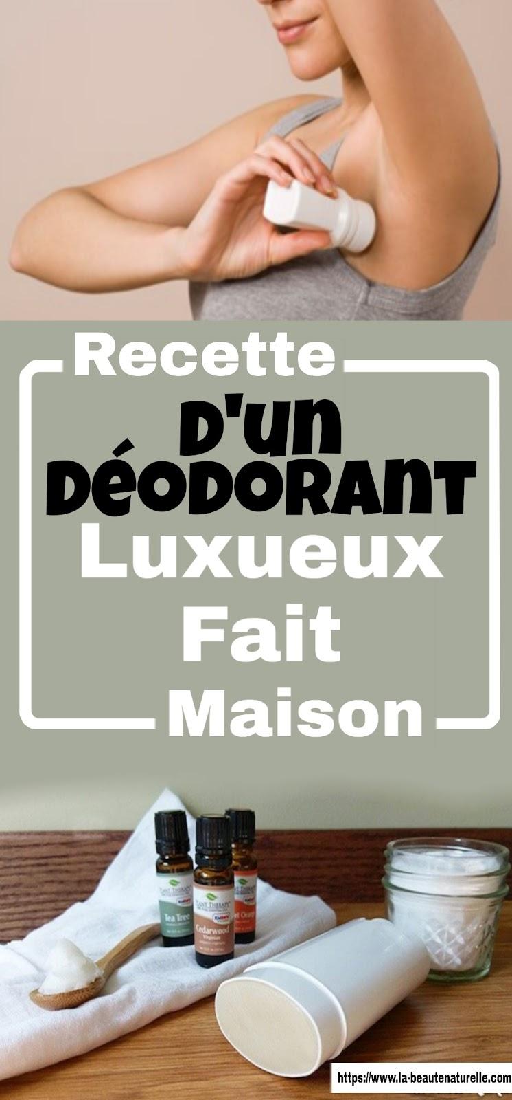 Recette D'un Déodorant Luxueux Fait Maison