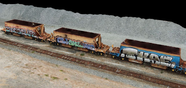 Drone scan train carriage Leighton Beach using Drone Deploy - Image 1