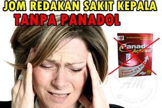 Hilangkan Sakit Kepala Tanpa Panadol