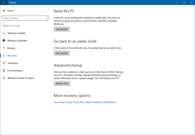 how to clean and speed up windows 10 with Microsoft's Refresh tool?