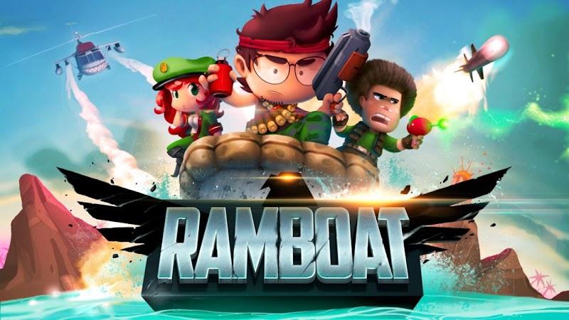 Ramboat - Jumping Shooter and Running Game v3.18.1 Apk Mod