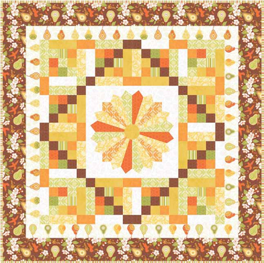Decadent Pear Quilt Free Pattern