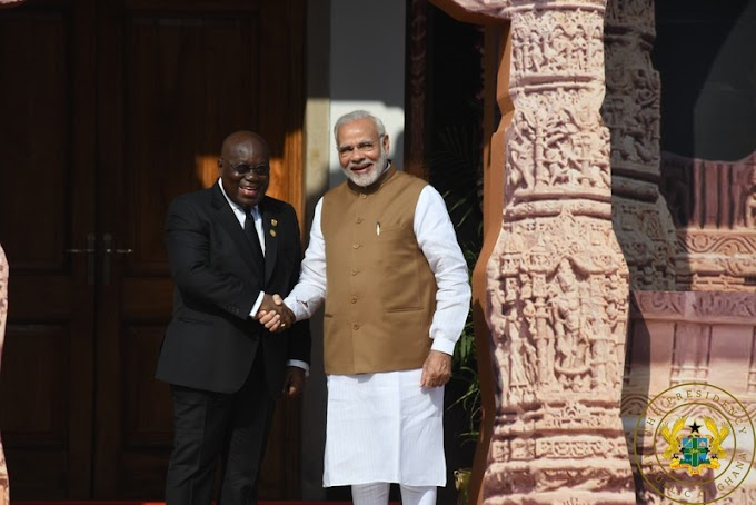 """Ghana To Increase Solar Energy Contribution To Energy Mix"" – President Akufo-Addo Pledges."