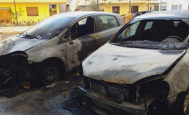 4 cars burned in Vlora, intentional fire on two of them