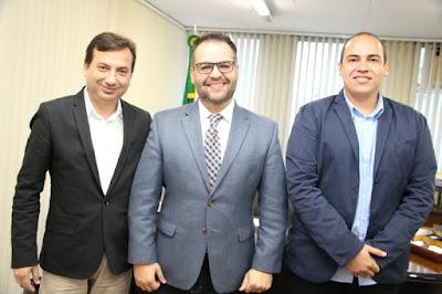 Prefeito Renato Soares solicita 75 mil reais ao Secretário de Desenvolvimento Social de São Paulo