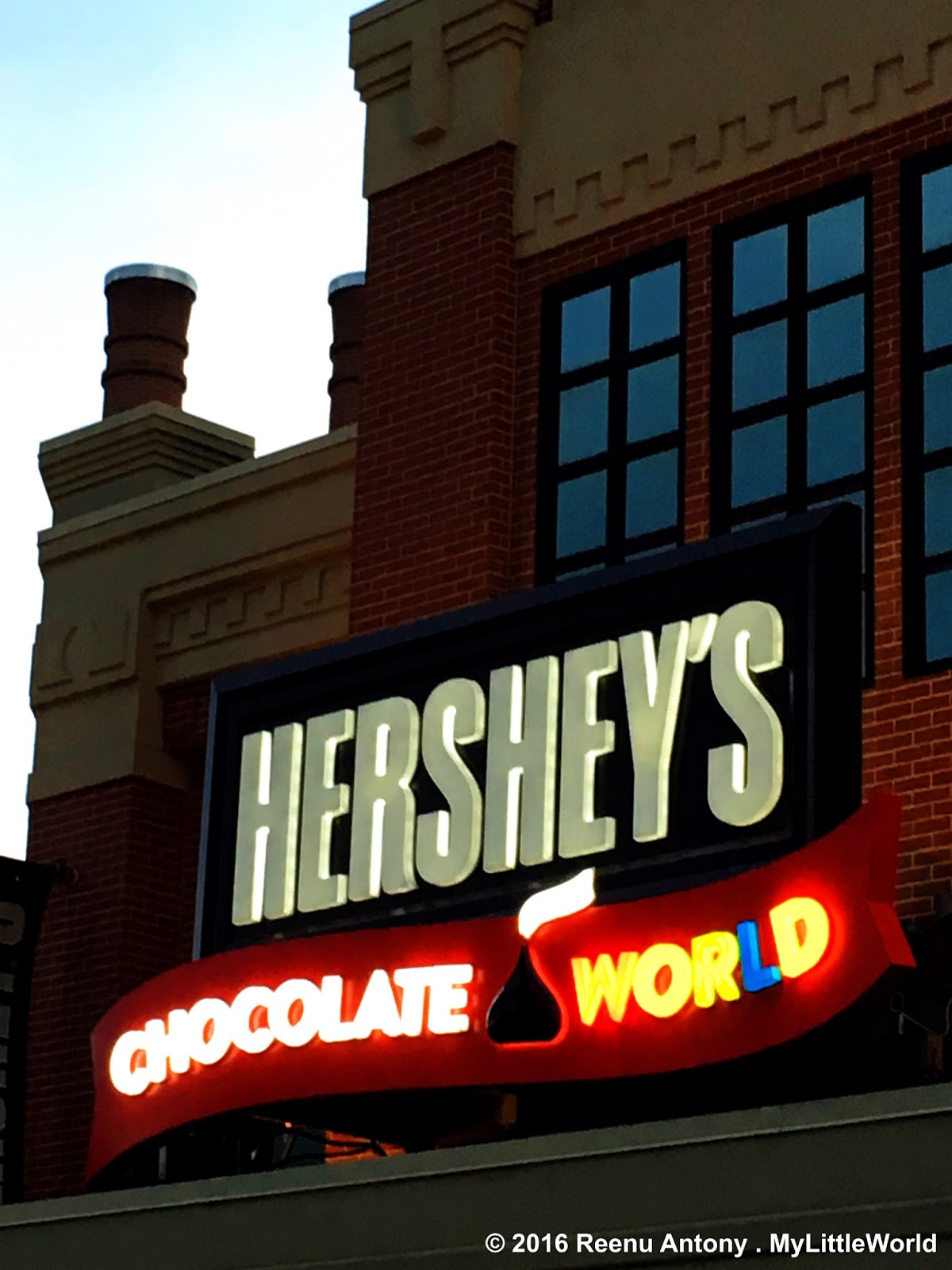 Hershey's Chocolate World, Pennsylvania | My Little World