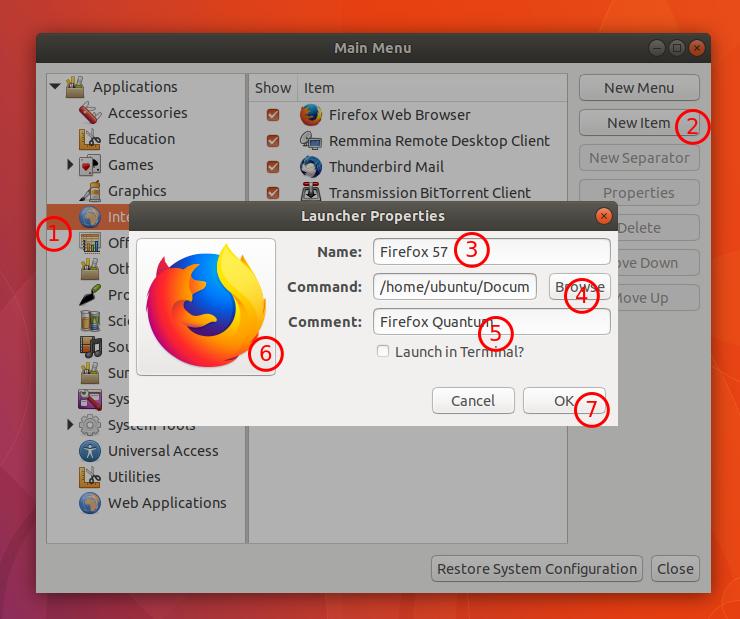 install firefox quantum ubuntu