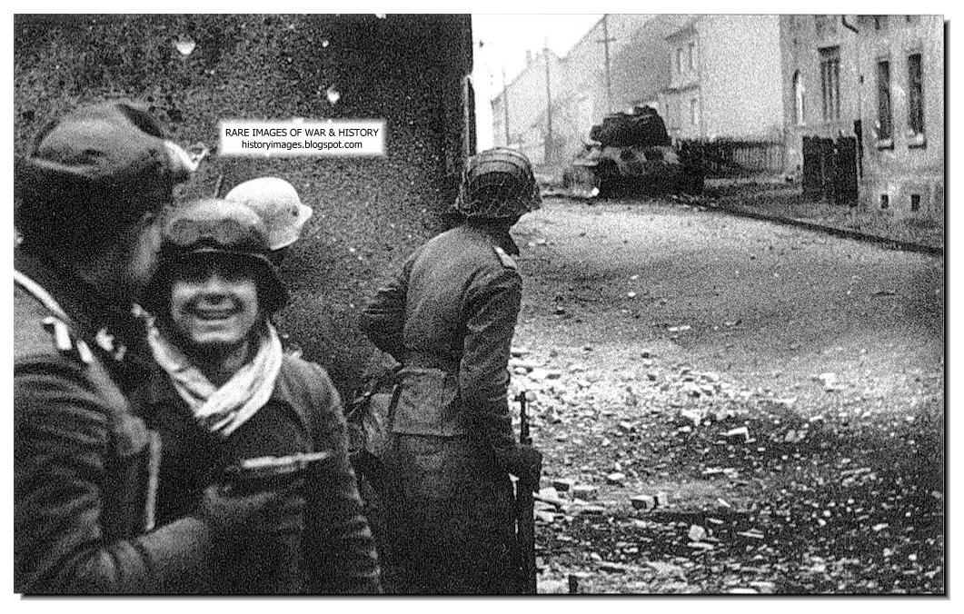 HISTORY IN IMAGE...T 34 Tank Stalingrad