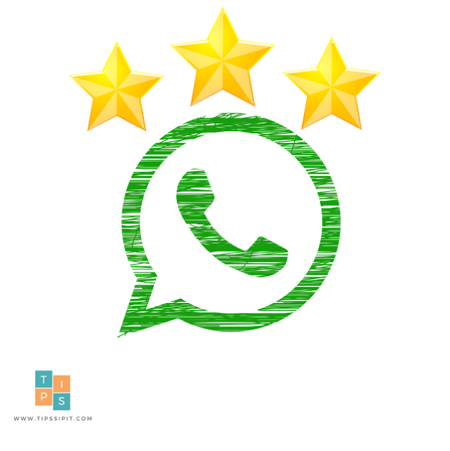 pesan berbintang whatsapp