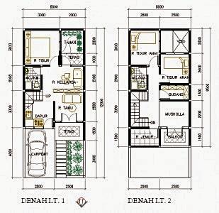 contoh rumah minimalis luas tanah 100m2