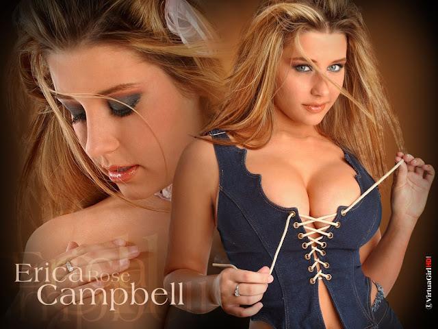 Erica Rose Campbell girl sexy wallpaper