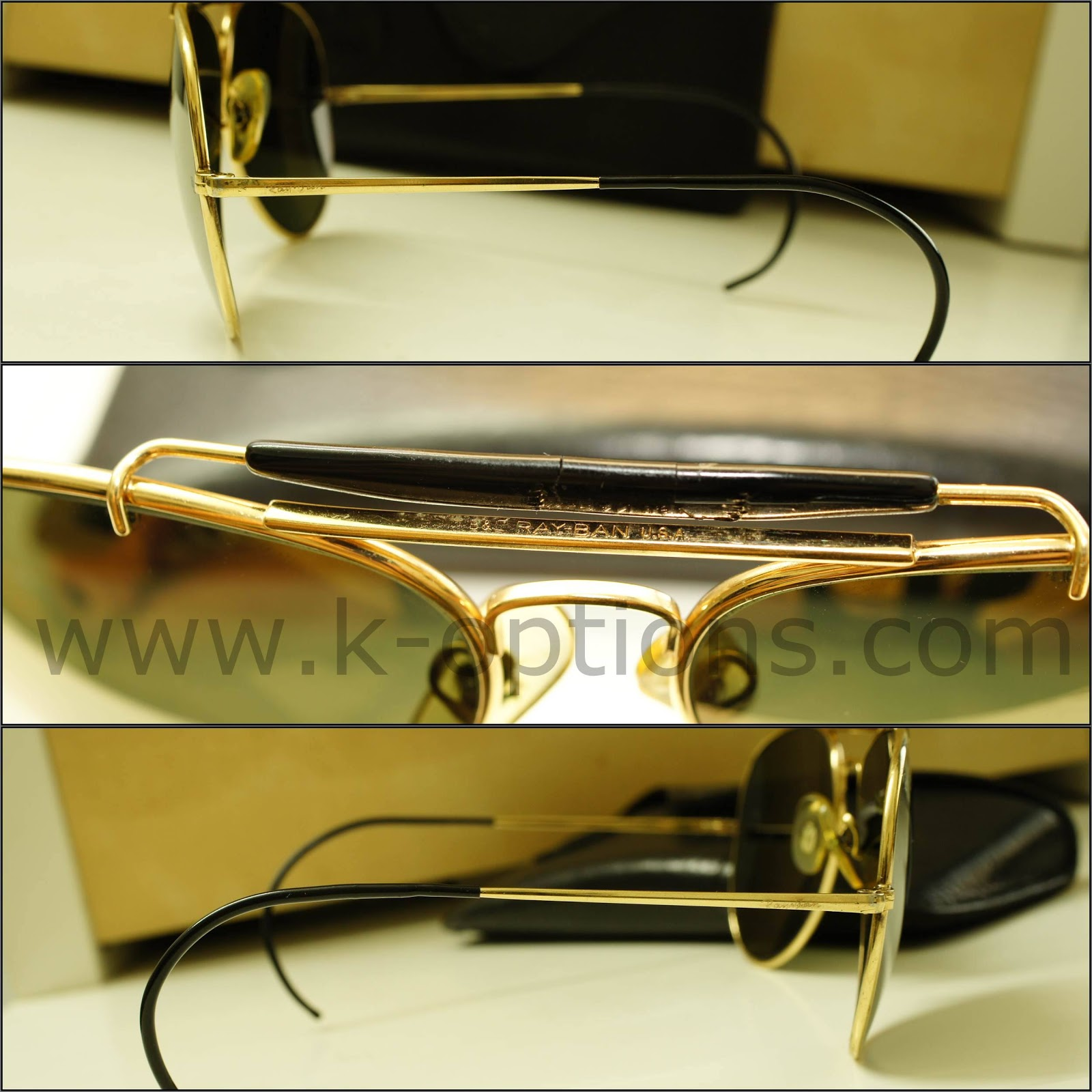 7c7df3f7ca Item   Ray Ban Outdoorsman Arista Diamond Hard Paddle Spring 62mm.  Description   Item selling as in pictures offer sun-glass with its original  cover.