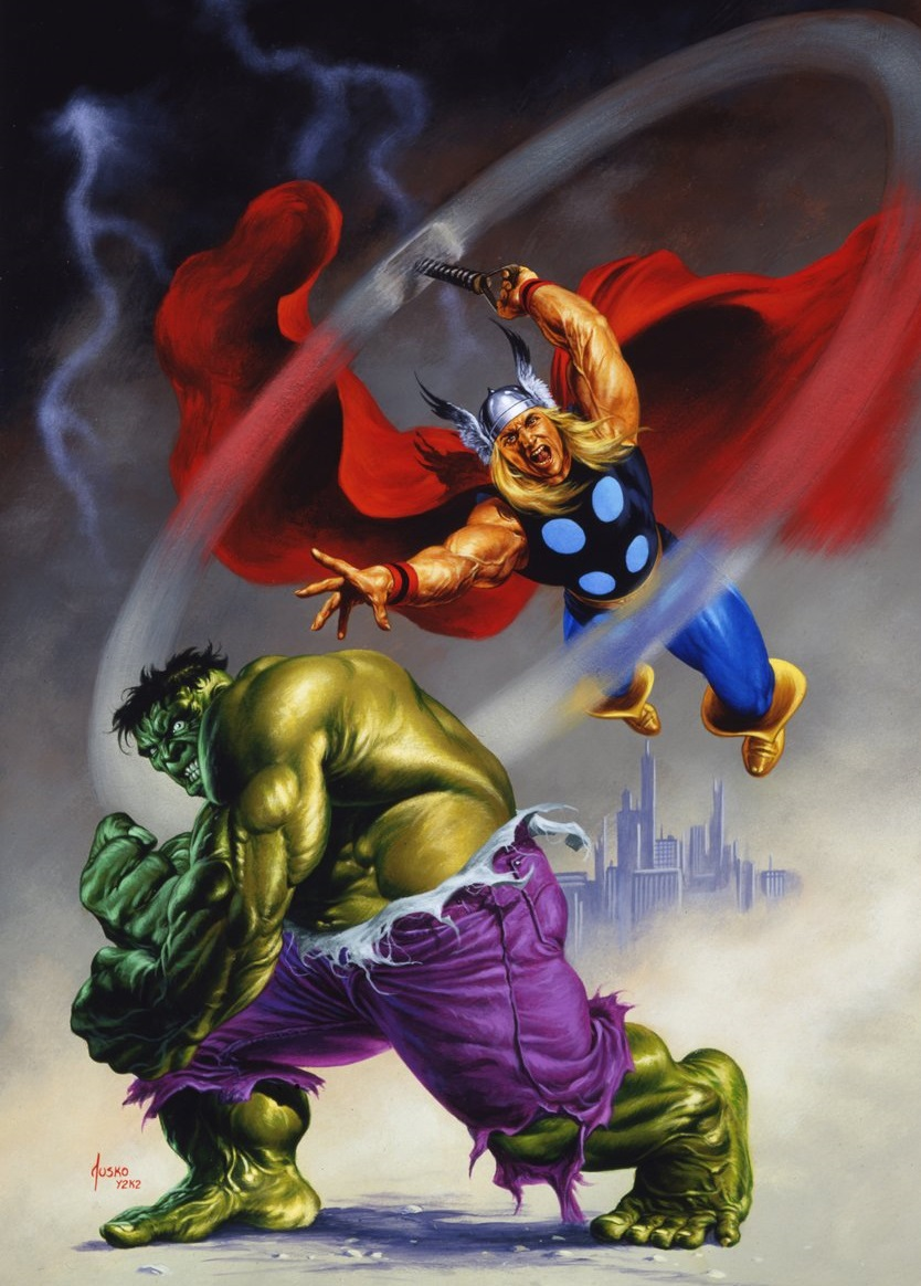 Hulk+%26+Thor+Jusko.jpg (834×1164)