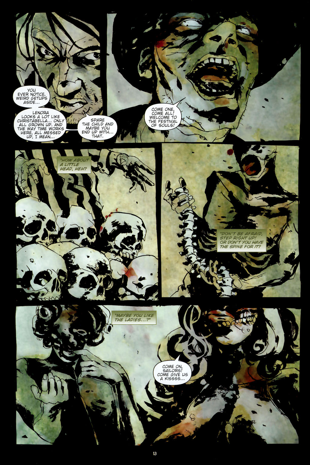 Read online Silent Hill: Dead/Alive comic -  Issue #3 - 15