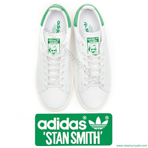 Crown Princess Victoria wore Adidas Stan Smith Sneakers