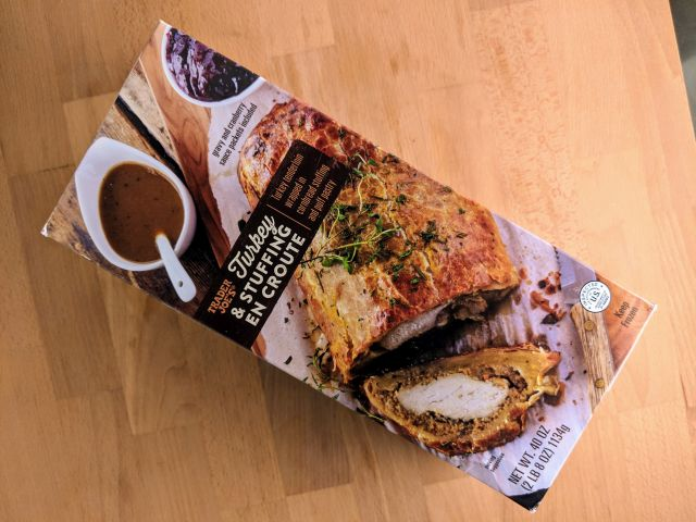 Review Trader Joe S Turkey And Stuffing En Croute Brand Eating