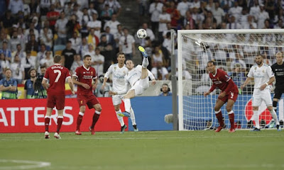 Real Madrid Wins 13th Champions League Trophy...Beats Liverpool 3-1 In Kiev