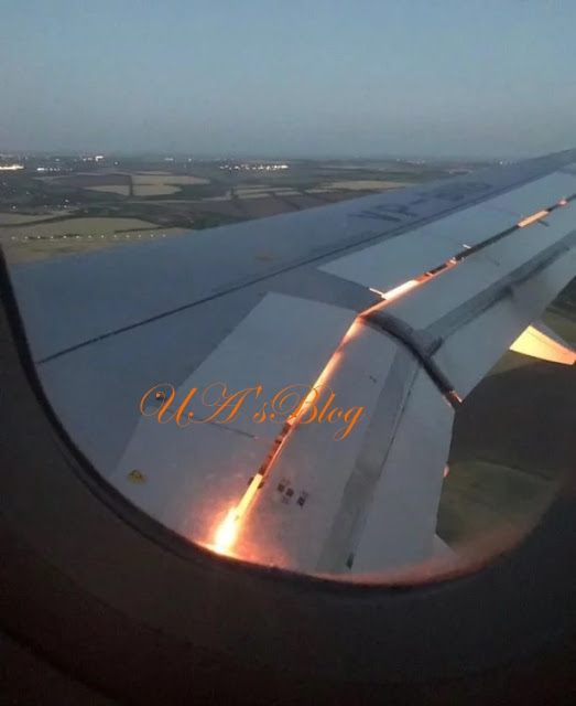 BREAKING: World Cup 2018: Saudi Arabia's team plane bursts into flames in mid air [PHOTO]
