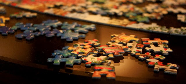 Climbing My Family Tree: Jigsaw Puzzle