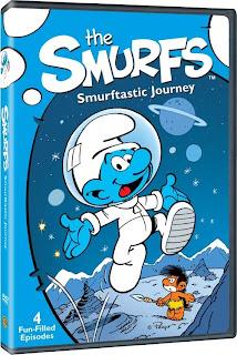 DVD Review - The Smurfs: Smurftastic Journey