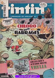 Tintin-numéro 48, année 38, 1983, Chloro